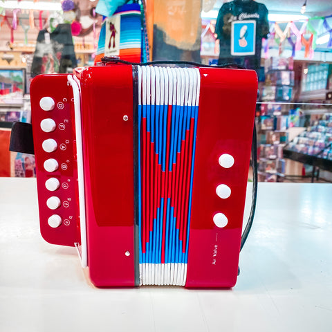 Kids Accordion- Red