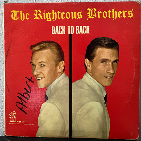 The Righteous Brothers - Back to Back (Vinyl)
