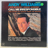 Andy Williams - Call Me Irresponsible and Other Hit Songs from the Movies (Vinyl)