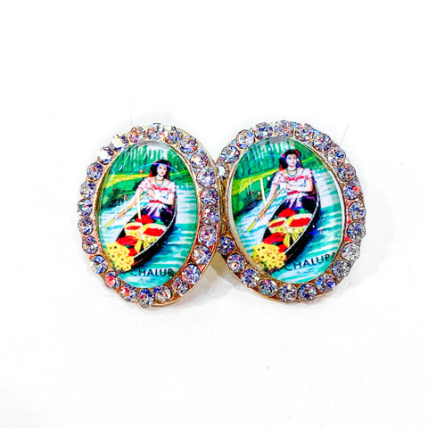 Loteria Earrings- La Chalupa