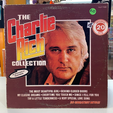Charlie Rich ‎– The Charlie Rich Collection (Vinyl)