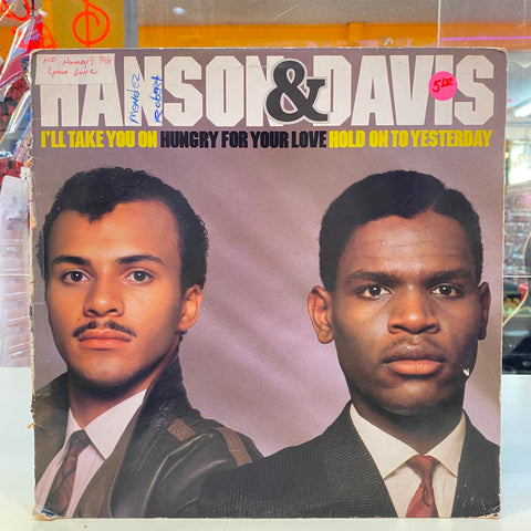 Hanson & Davis - I'll Take You On / Hungry For Your Love / Hold on To Yesterday