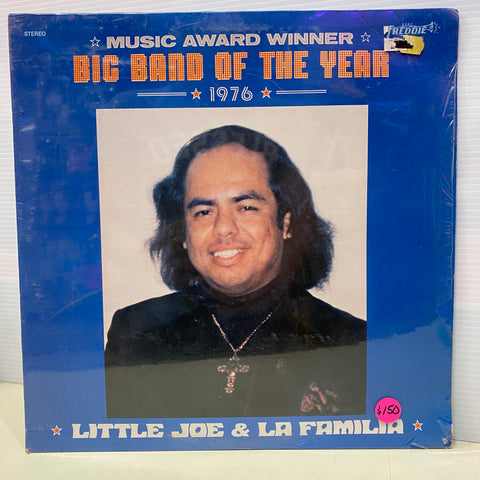 Little Joe & La Familia - Music Award  Winner Big Band Of The Year 1976 (Vinyl)