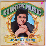 Johnny Cash - Country Music (Vinyl Cover)