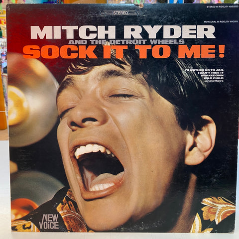 Mitch Ryder & The Detroit Wheels - Sock It To Me! (Vinyl)