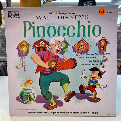 All Songs From Disney's Pinocchio (Vinyl)