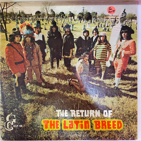 The Return of the Latin Breed (Vinyl Cover)