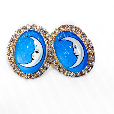 Loteria Earrings- La Luna