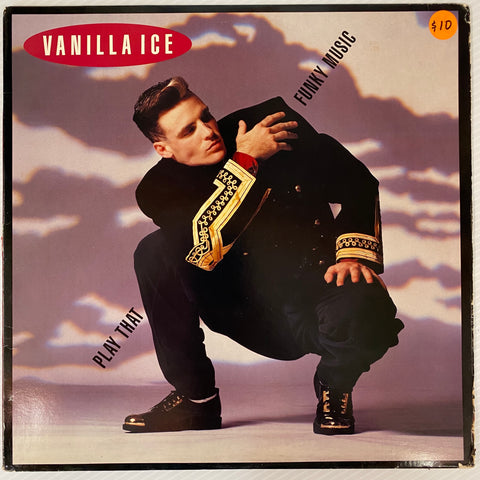 Vanilla Ice - Play That Funky Music( Vinyl)