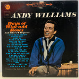 Andy Williams - Days of Wine and Roses (Vinyl)