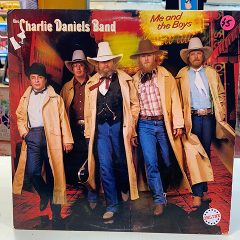 The Charlie Daniels Band - Me And The Boys (Vinyl)