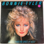 Bonnie Tyler ‎– Faster Than The Speed Of Night (Vinyl Cover)