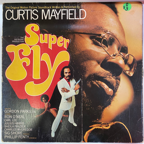 Curtis Mayfield ‎– Super Fly (Vinyl Cover)
