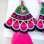 Fiesta Earrings - Pink