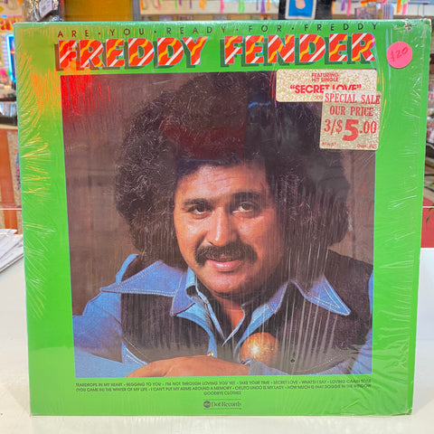 Freddy Fender - Are You Ready For Freddy (Vinyl)