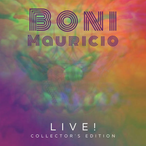 Boni Mauricio - Live! Collector's Edition (CD)