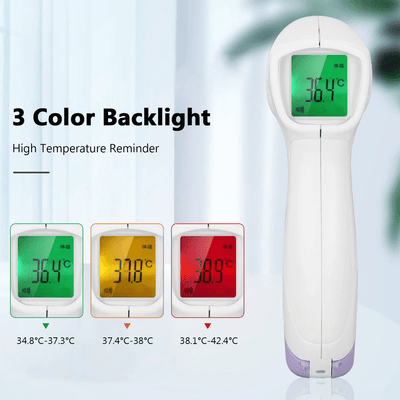 Touch Free IR Forehead Thermometer - For Adults and Kids