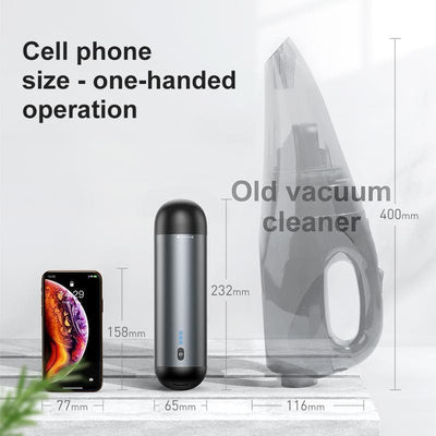 Wireless & Portable Auto Vacuum Cleaner
