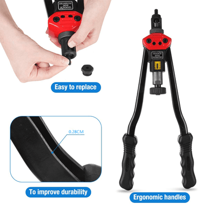 Premium Easy Automatic Rivet Tool Set