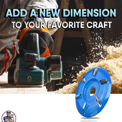CarvIT Wood Grinder Disc