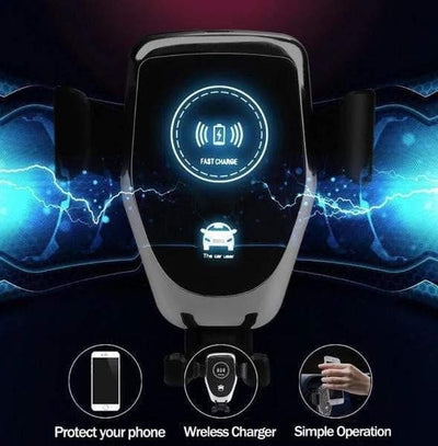 Wireless Car Charger iPhone & Samsung