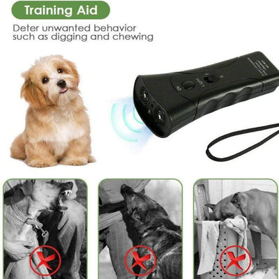 Ultrasonic Dog Bark Training Device