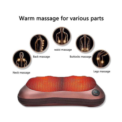 Shiatsu Head & Neck Massage Pillow
