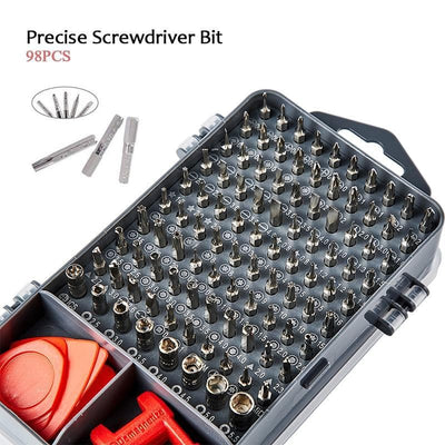 112pcs Magnetic Screwdriver Tool Set