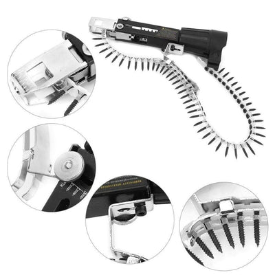 3pcs Electric Drill Chain Attachment Set