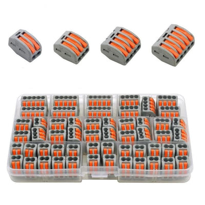 55pcs 412 413 415 Wire Connector Set