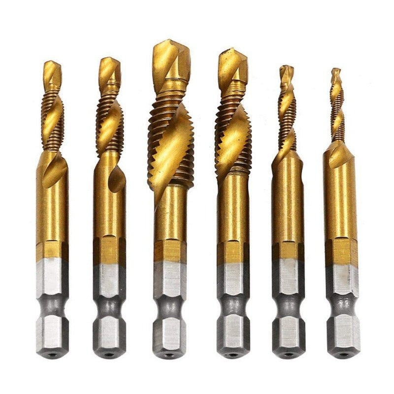 Thread Tap Drill Bits Set