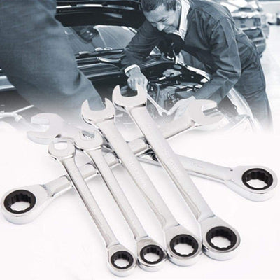 Combination Ratchet Wrench Set - 5pc / 7pc / 12pc