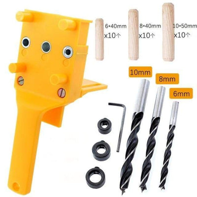 Drill Guide Tool For Carpentry