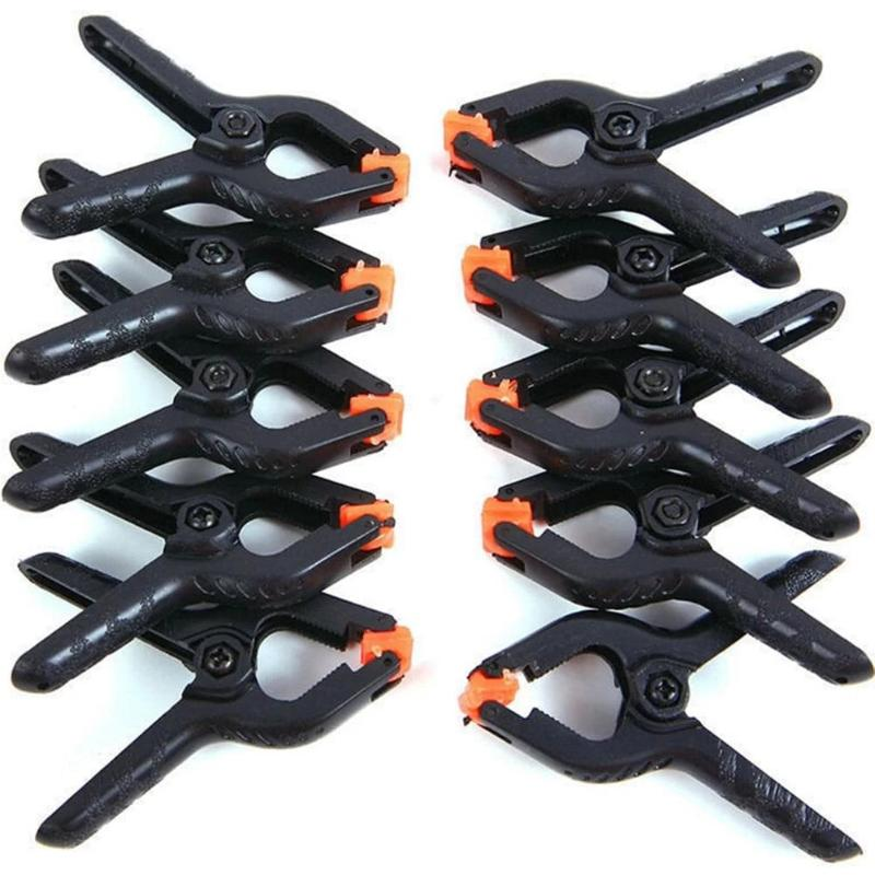 10pcs 2-inch Spring Clamps