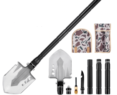 The Ultimate Survival Tool Multi-Purpose Shovel