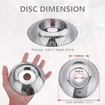 The Easy-Shaper Grinder Shaping Disc