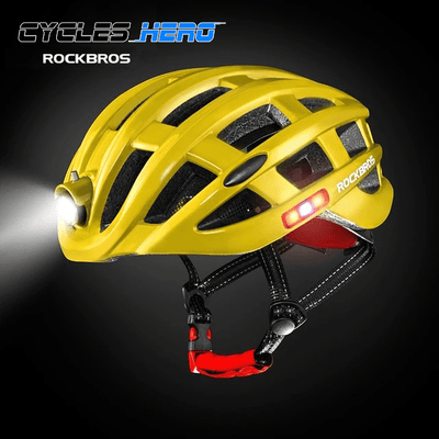 ROCKBROS Ultralight LED Cycling Helmet