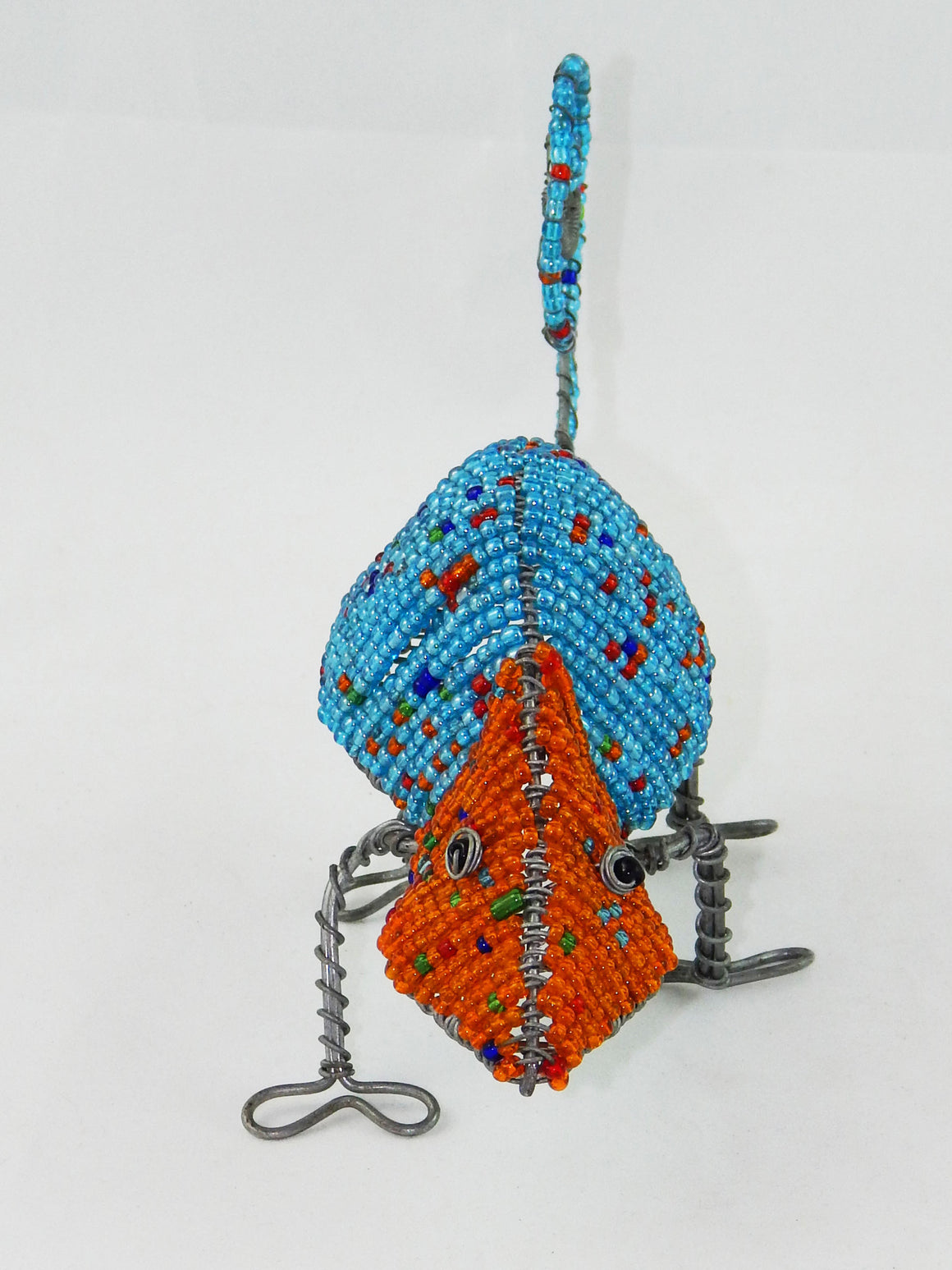 Maasai Beaded Chameleon