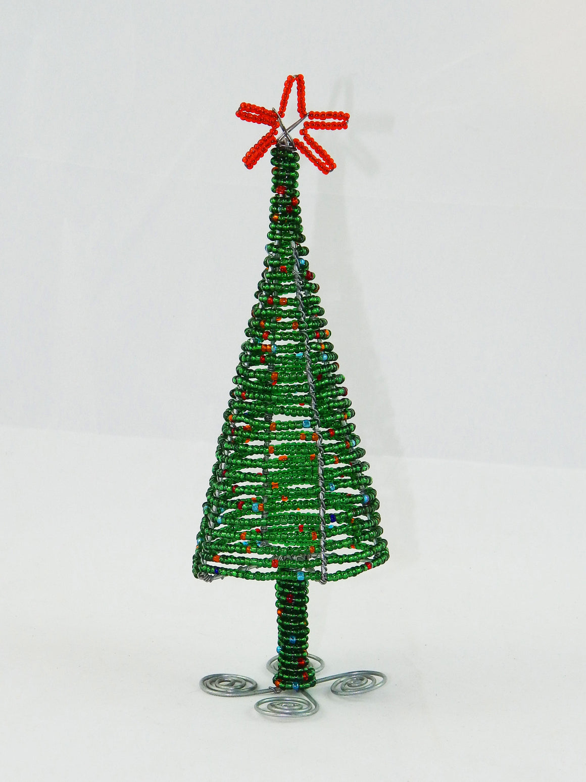 Maasai Beaded Christmas Trees