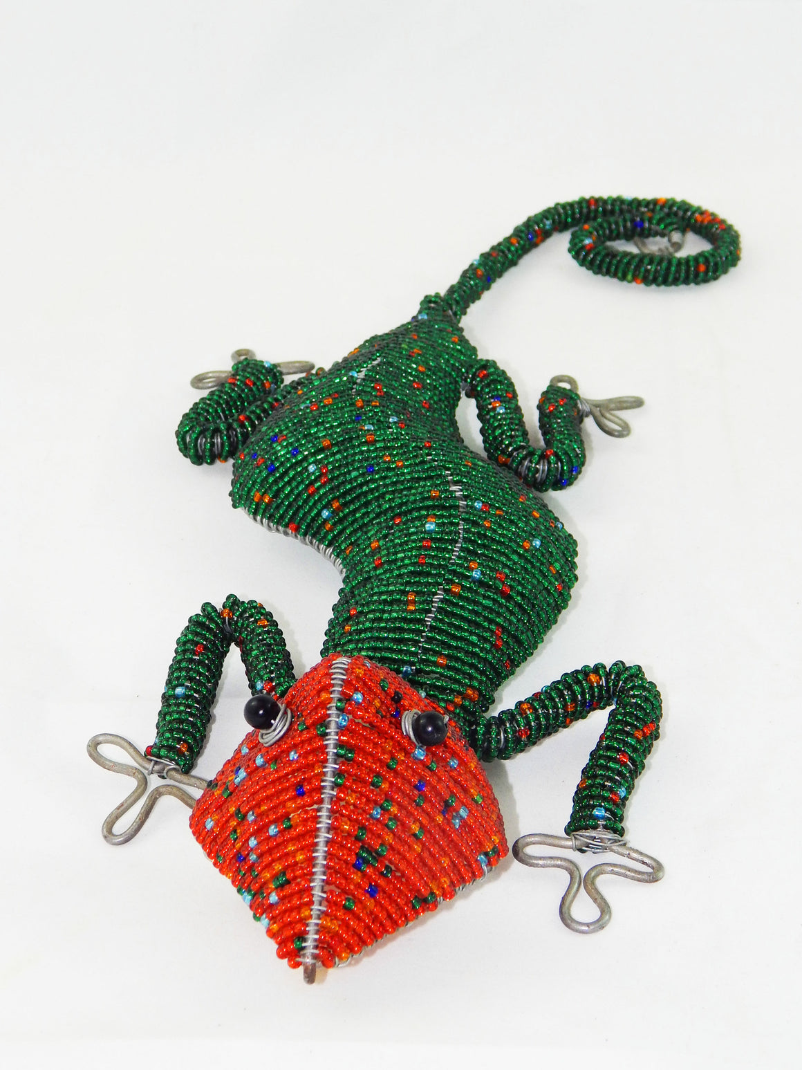 Maasai Beaded Large Lizard