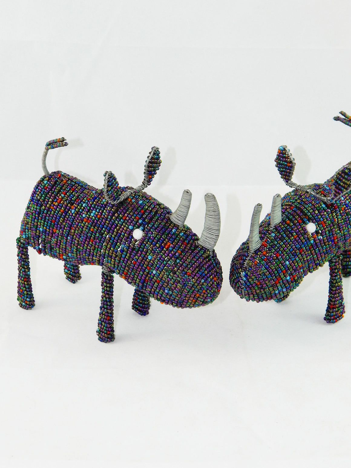 Maasai Beaded Rhino
