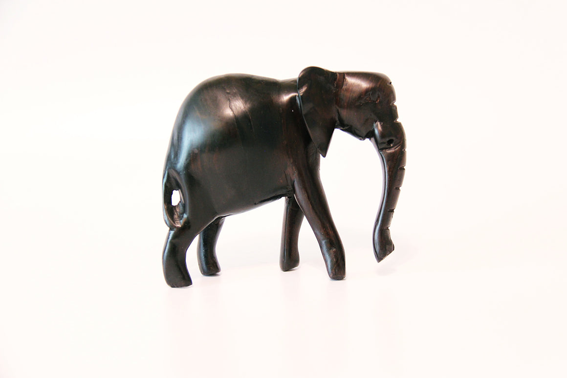 Out of Africa Elephant Carving