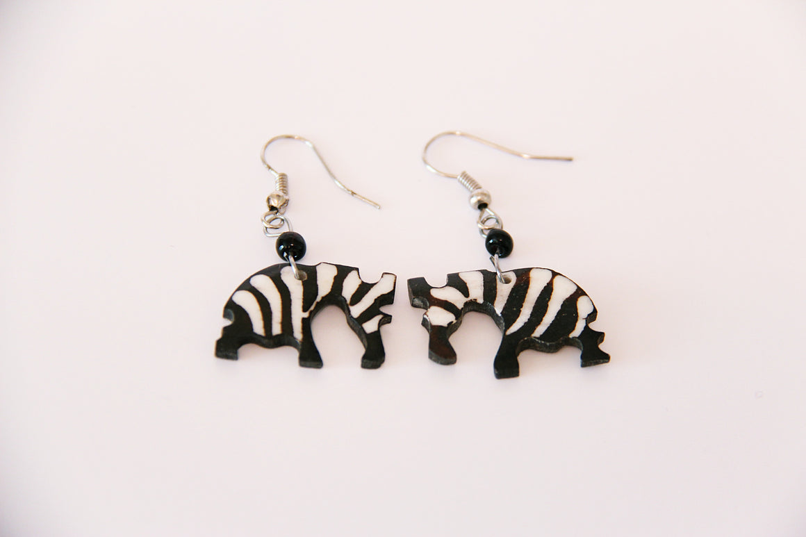 Zebra Safari Earrings