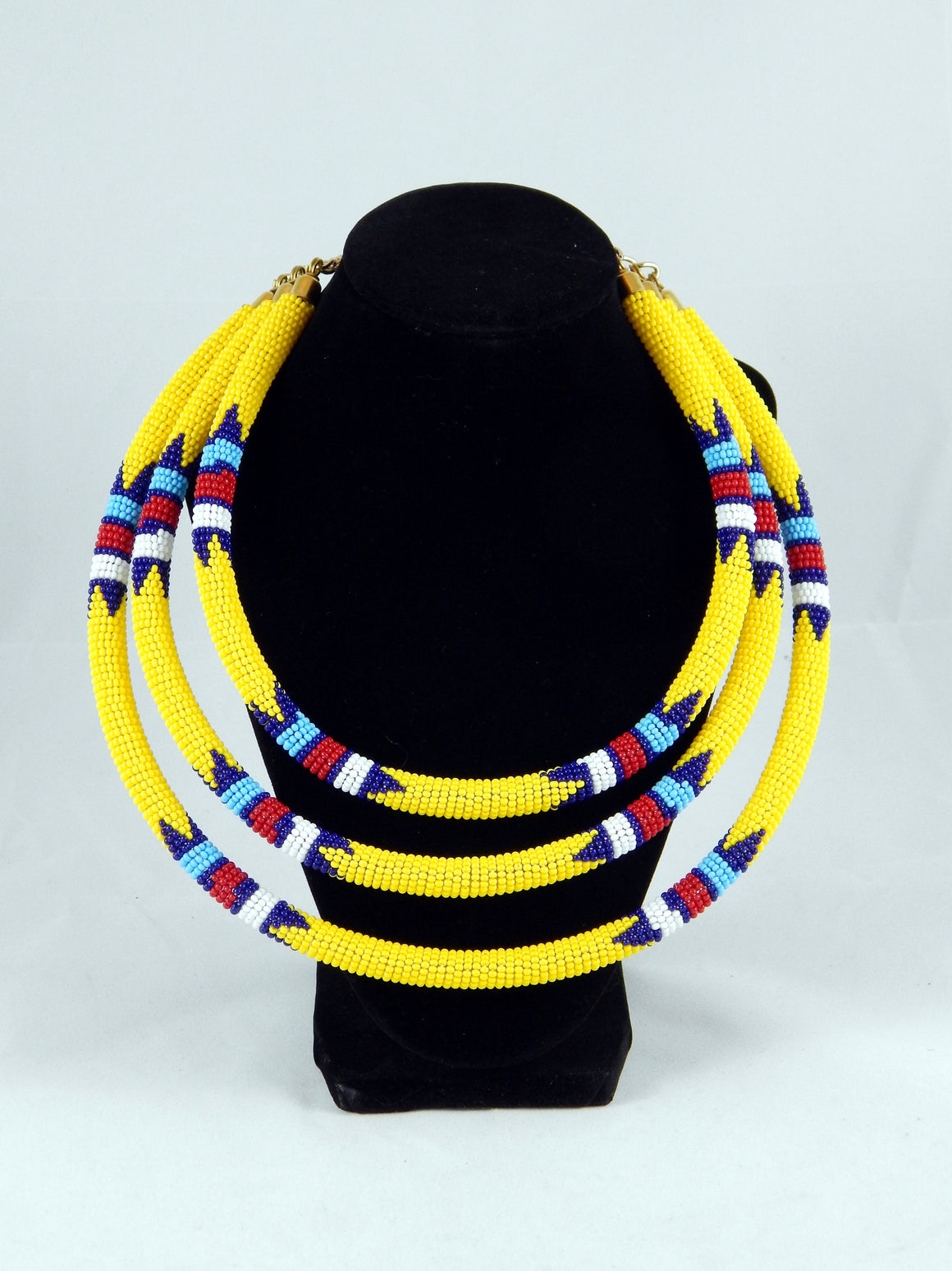Maasai Triple Strand Chokers