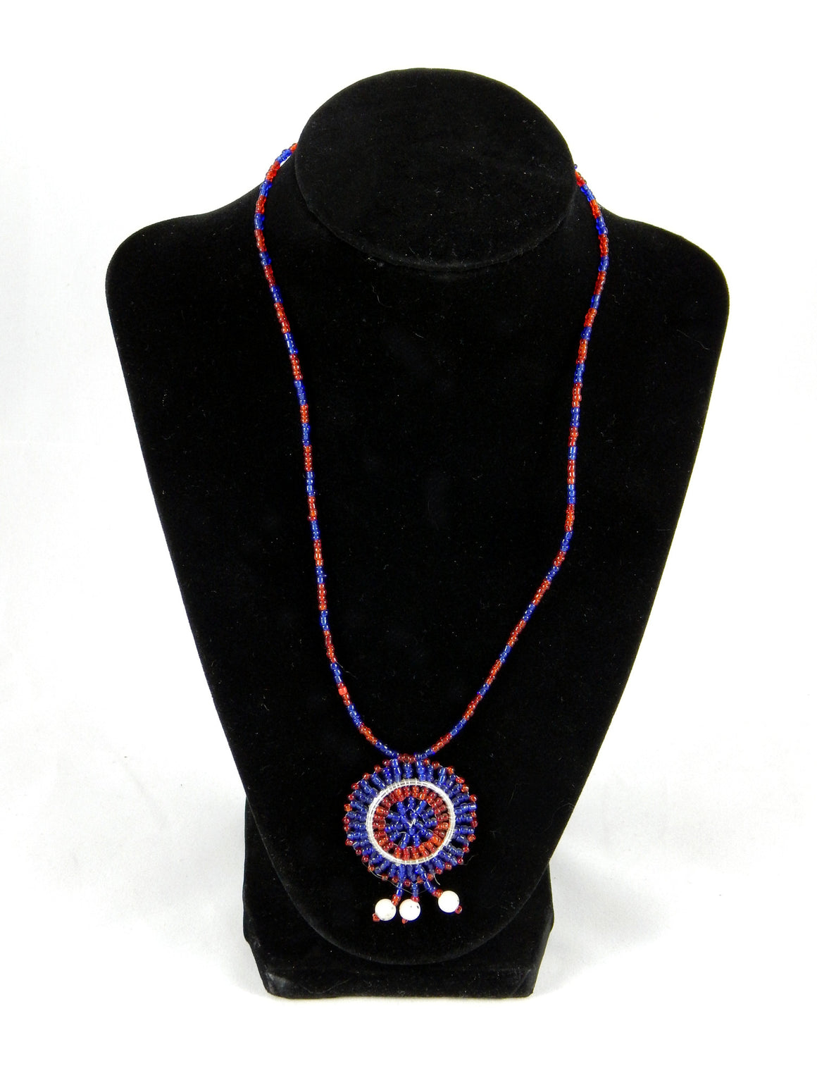 Maasai Wedding Necklace Beaded Pendants