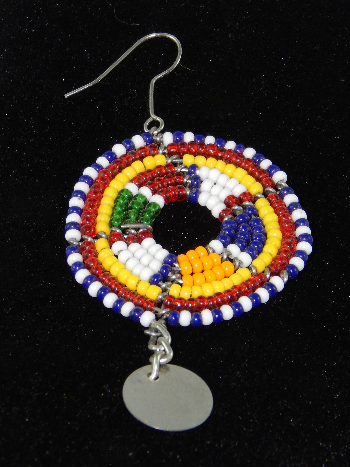 Maasai Wedding Earrings