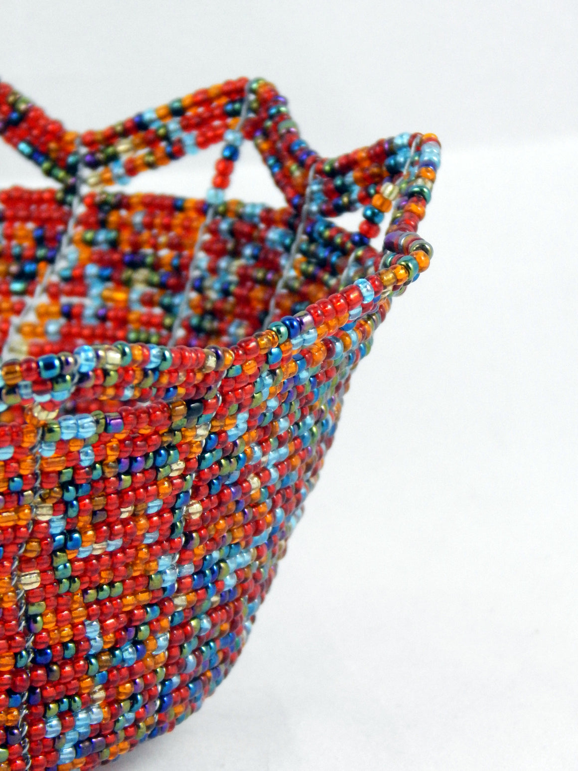 Maasai Beaded Baskets