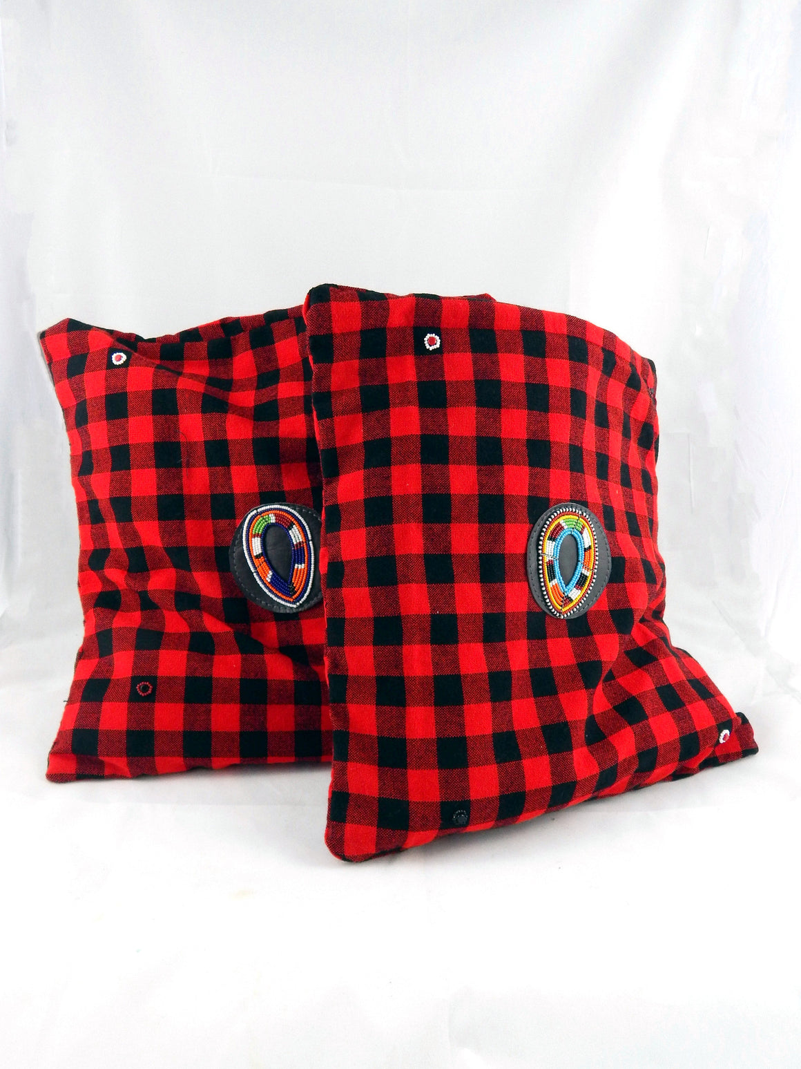 Maasai Shuka Pillow Covers