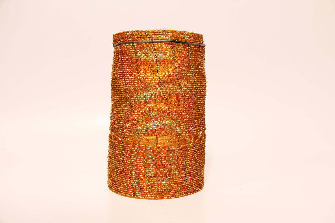 Maasai Beaded Lamp Shades