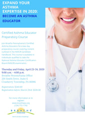 Certified Asthma Educator Preparatory Course